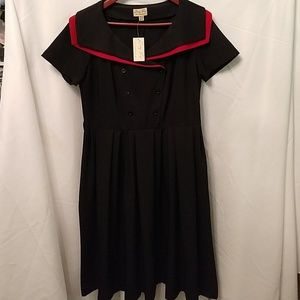 Lindy Bop Brand Rockabilly pinup dress